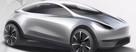 Tesla опубликовала эскиз компактного электрокара