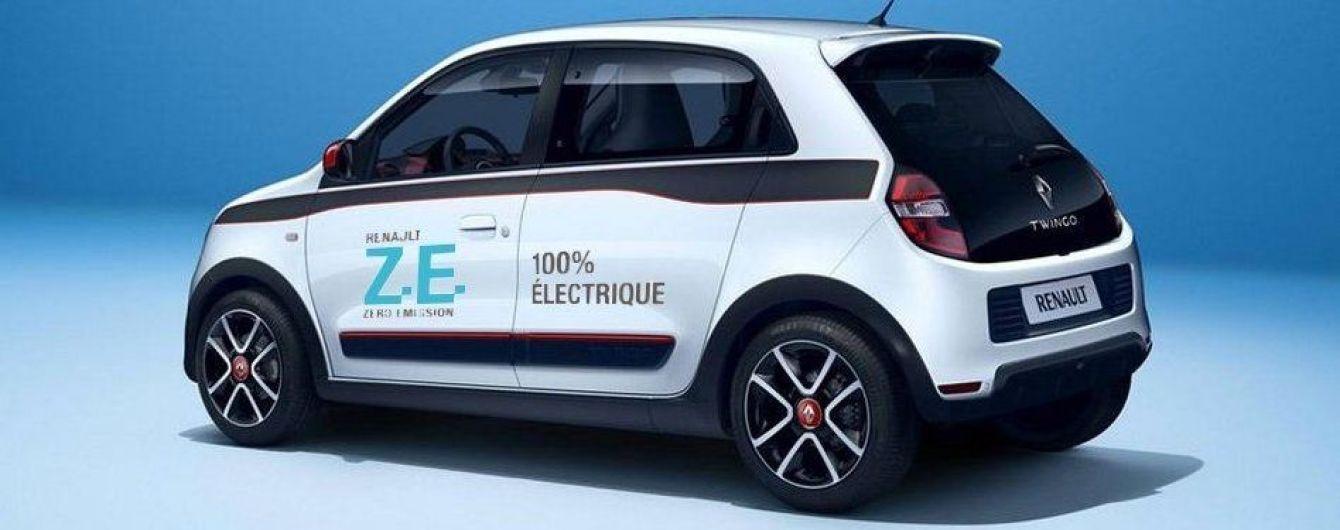 Renault випустить на ринок електрокар Twingo