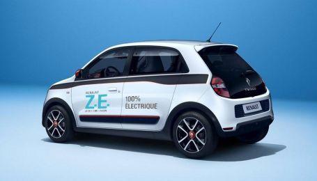 Renault выпустит на рынок электрокар Twingo