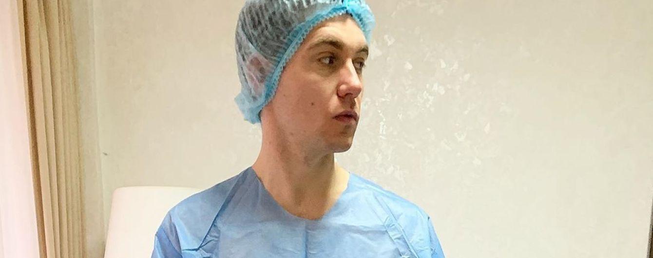Володимир Остапчук вперше розповів, чому опинився в лікарні