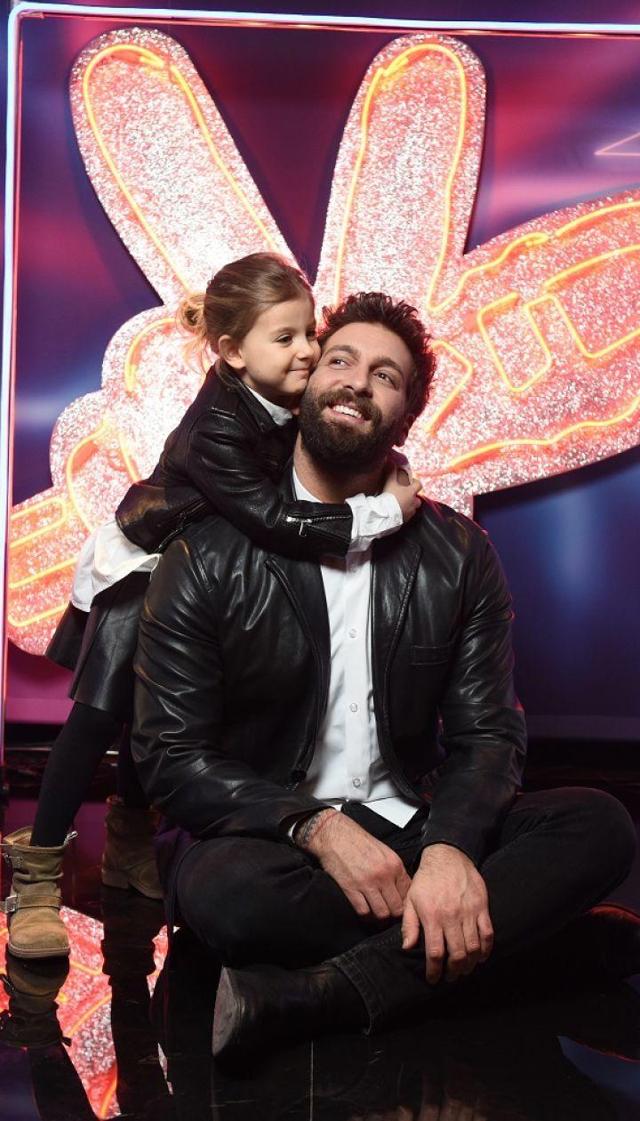 Даніель Салем з донькою