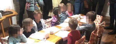 В Киеве обнаружили нелегальный детсад. Полиция проверяет факт незаконного удержания 11 малышей