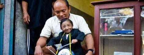 Найменший чоловік світу помер у віці 27 років