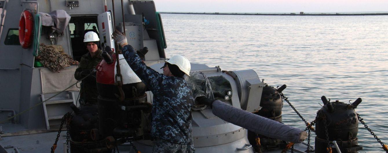 В штабе ООС опровергли информацию о минировании Азовского моря