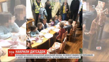 Полиция обнаружила незаконное дошкольное учреждение в одном из столичных районов