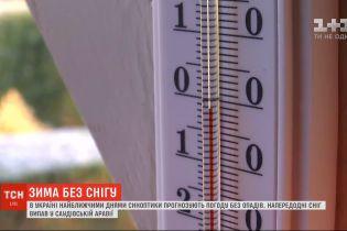 Зима без снігу: скільки ще протримається тепло в Україні