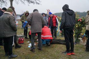 Во время празднования Крещения в Житомире умер мужчина