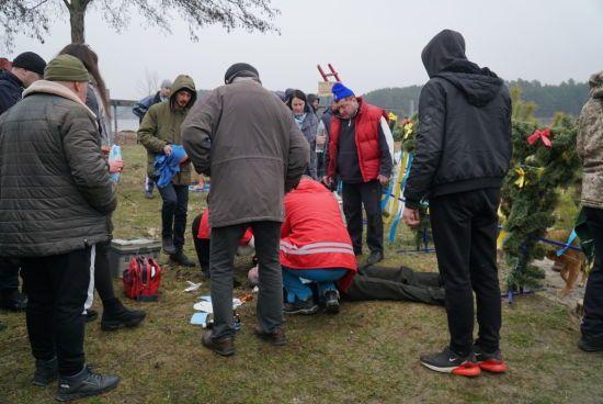 Під час святкування Водохреща у Житомирі помер чоловік