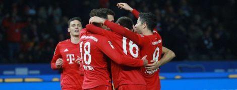 """""""Бавария"""" благодаря яркому второму тайму одержала разгромную победу в Бундеслиге"""