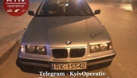 Пьяный водитель BMW в Киеве угрожал полиции пистолетом