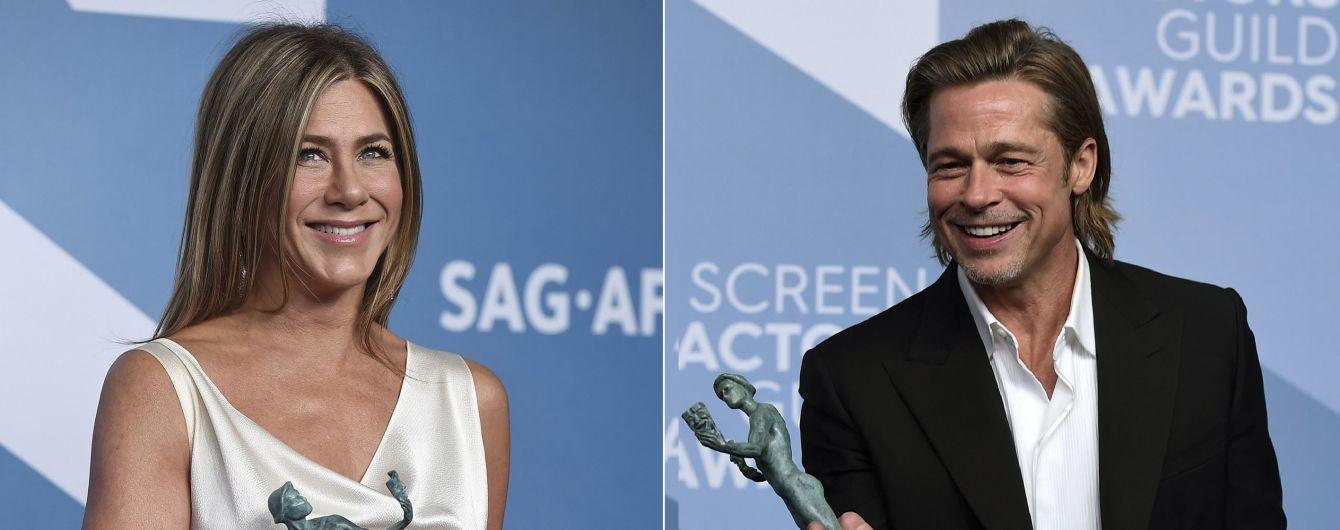 Объятия Питта с Энистон и роскошная Зеллвегер: как прошла SAG Awards