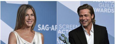 Обійми Пітта з Еністон та розкішна Зеллвегер: як минула SAG Awards