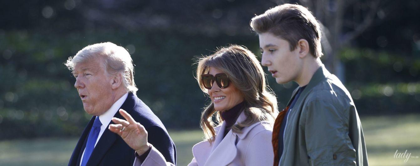 """""""Сильний підліток"""": молодший син Трампа перехворів на коронавірус"""