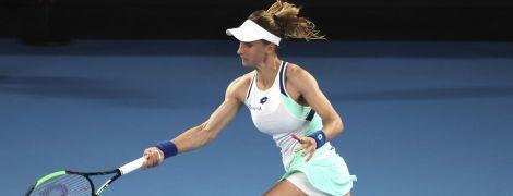 Цуренко вылетела на старте Australian Open, взяв лишь сет у первой ракетки планеты