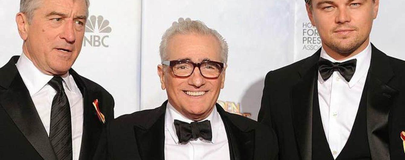 Леонардо Ді Капріо і Роберт де Ніро зіграють в новому фільмі Скорсезе за романом Девіда Ґренна