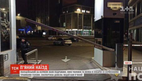 """В Одессе пьяный полицейский на """"евробляхе"""" сбил двух пешеходов"""