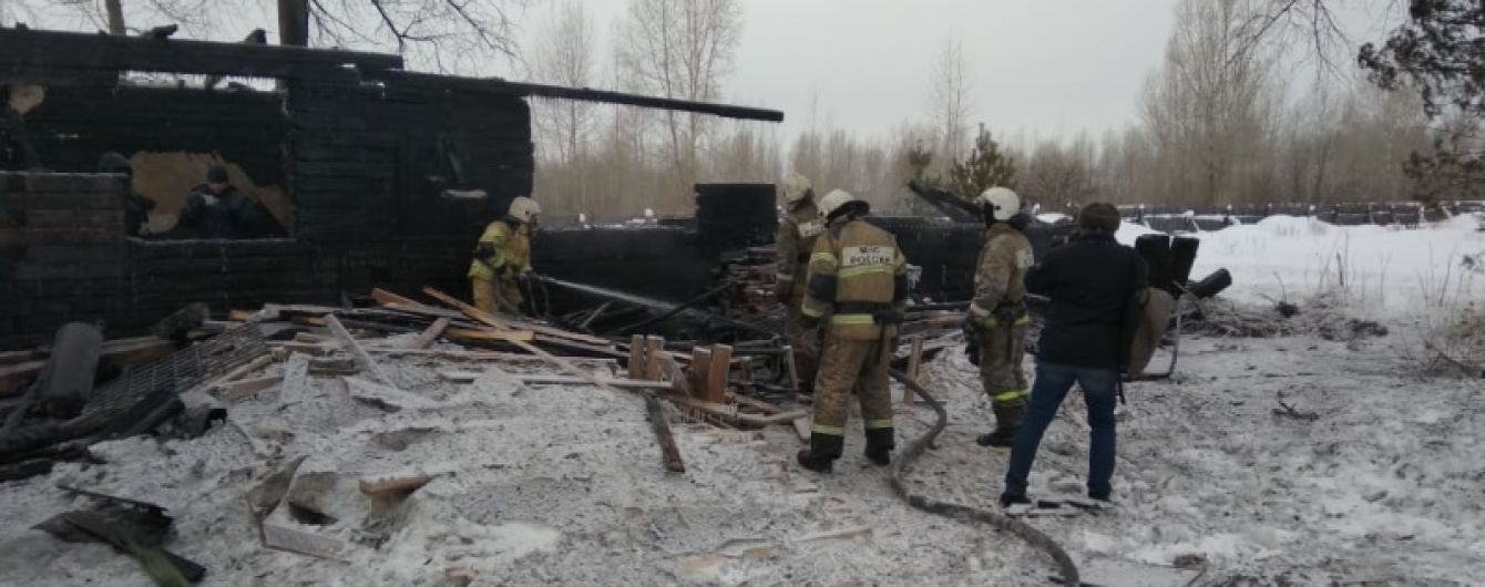 В Томской области на частной пилораме при пожаре погибли 11 рабочих