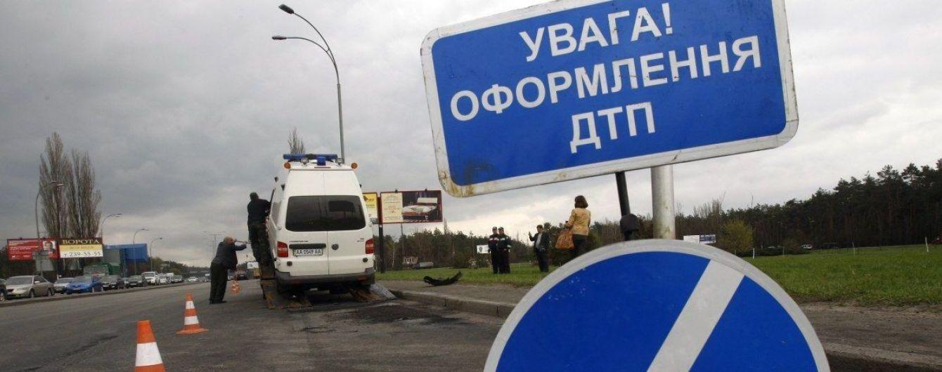 В Харьковской области полиция преследовала водителя и попала в двойное ДТП