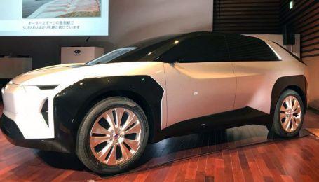 Subaru представила свой первый электрокар