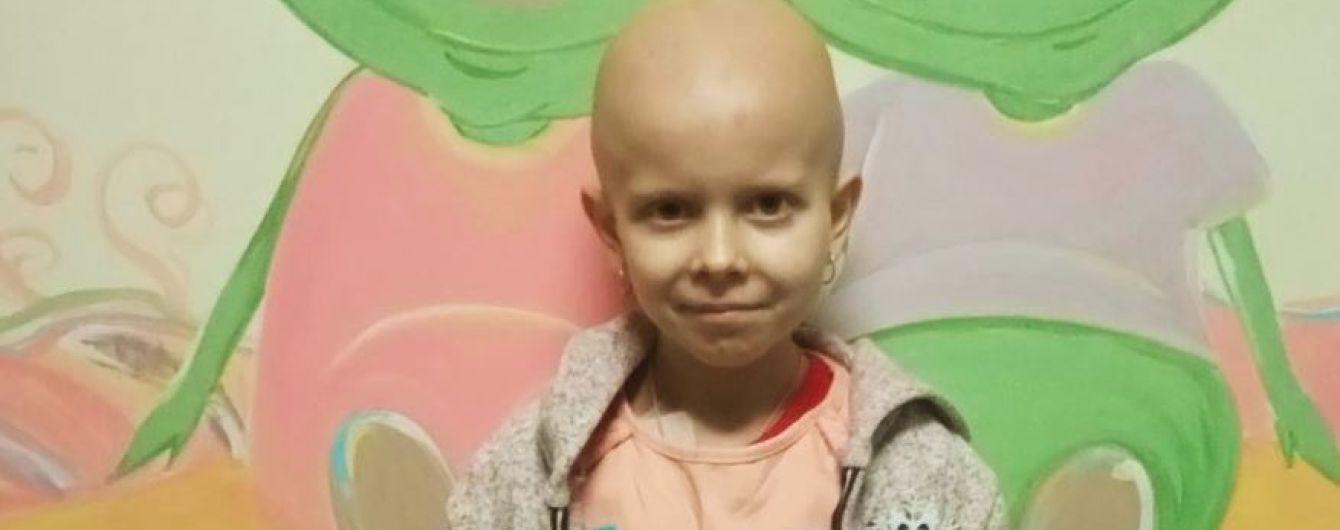 Дороге лікування, якого немає в Україні, може врятувати життя Анюті