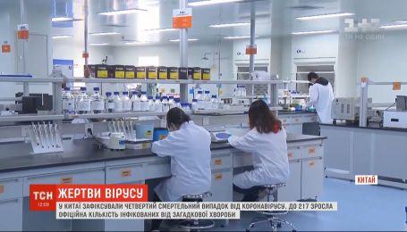 Четвертий смертельний випадок від коронавірусу зафіксували у Китаї