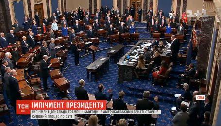 В Сенате стартует процесс рассмотрения импичмента президента США Дональда Трампа