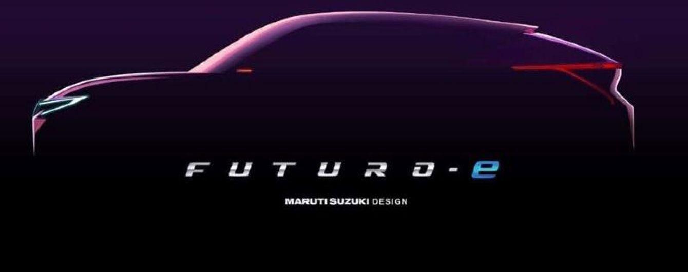Suzuki представила тизер электрического купе-кроссовера