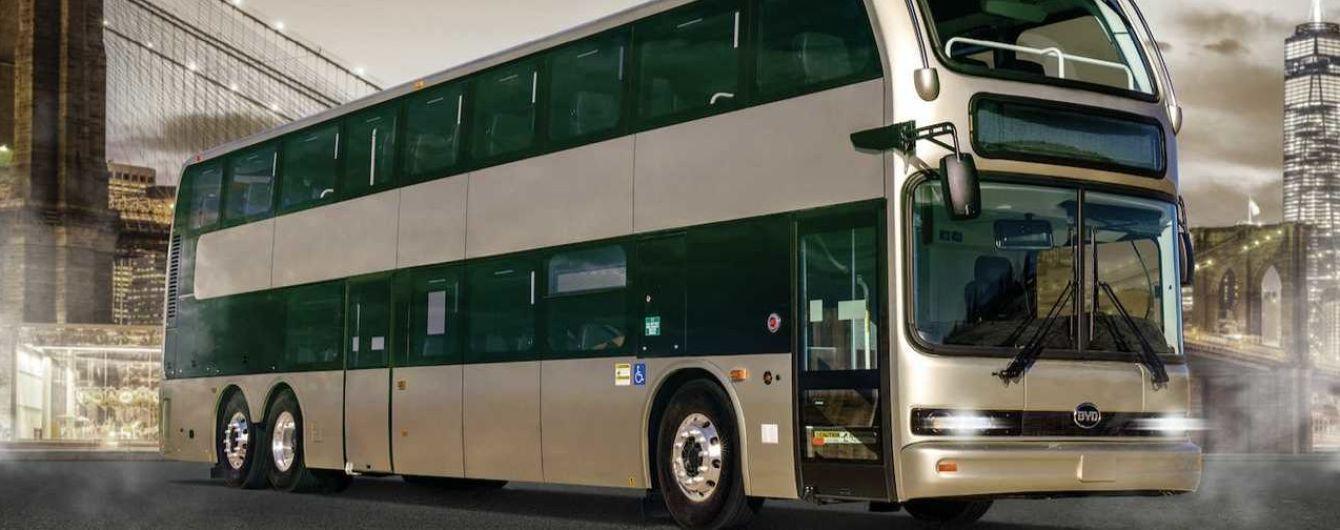 """BYD представила """"найбільший електробус Америки"""""""