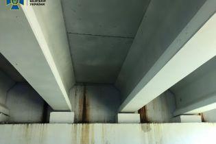 На Житомирщине начал разрушаться отремонтированный мост. Потому что деньги украли чиновники