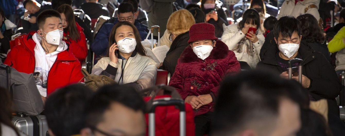 В одной из провинций Китая зафиксировали вспышку коронавируса