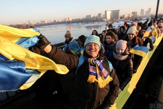 Україна святкує День собороності