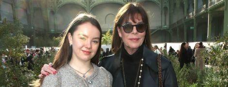 Стильные принцессы Монако - Каролина и Александра, сходили на показ Chanel