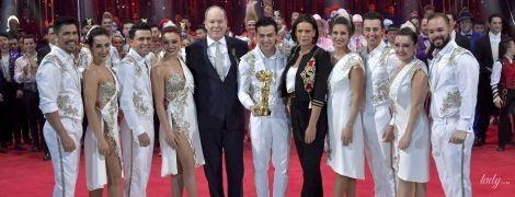 Новый выход монакской семьи: принцесса Стефания и князь Альбер II сходили в цирк