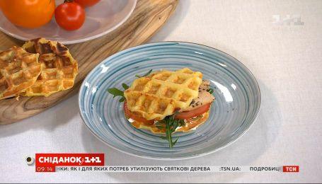 Картопляні вафлі від Руслана Сенічкіна