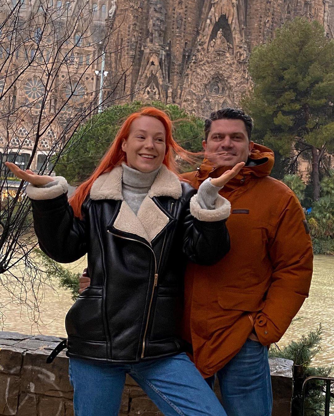 Світлана Тарабарова з чоловіком