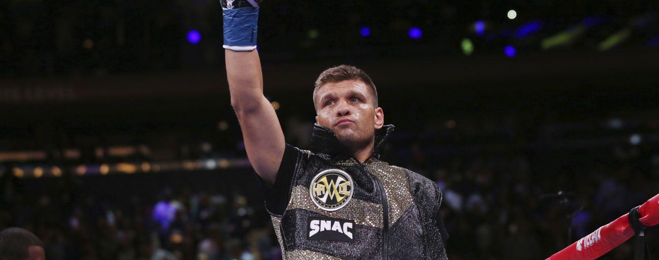 Еще один украинский боксер может драться за чемпионский титул в 2020 году