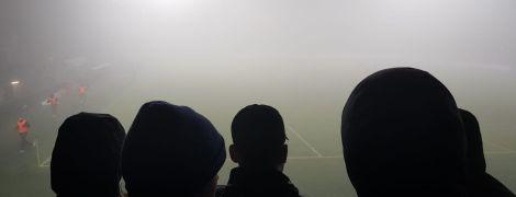 Растворились в тумане. В Нидерландах не доиграли футбольный матч из-за погоды
