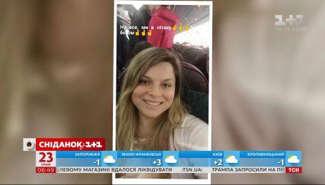 """Ведущая """"Сниданка"""" Неля Шовкопляс впервые полетела на самолете и сделала видеоотчет о своих впечатлениях"""