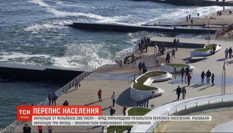 37 мільйонів 289 тисяч: уряд оприлюднив результати перепису населення України