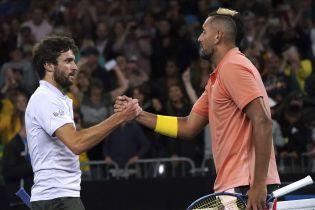 Теннисисты забавно спародировали Надаля во время матча на Australian Open