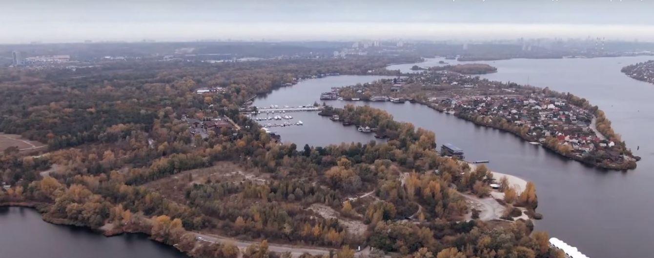 Советник Кличко хочет застроить рекреационный Жуков остров. Департамент земельных ресурсов КГГА обратился в полицию