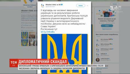 Український тризуб прибрали з британського антитерористичного посібника