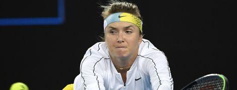 Свитолина восхитилась собственным ударом на Australian Open