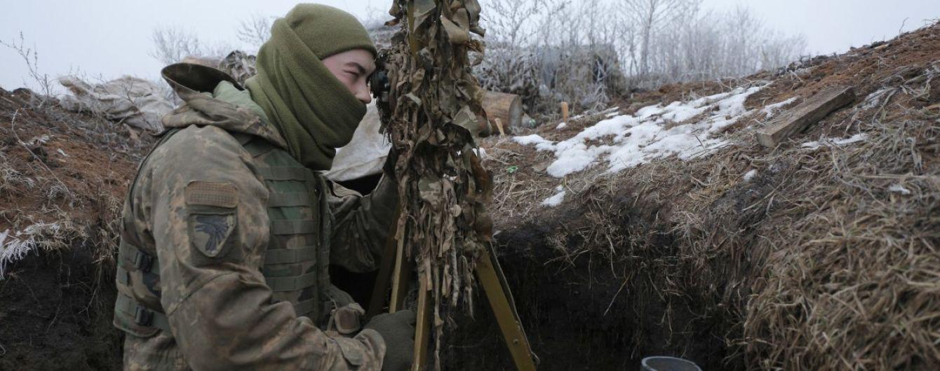 Бойовики не припиняють обстріли позицій ООС із забороненого озброєння: один боєць отримав поранення