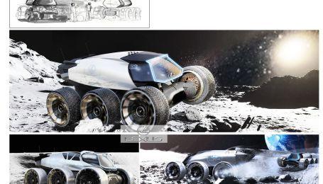 Lexus помог Toyota с работой над луноходом