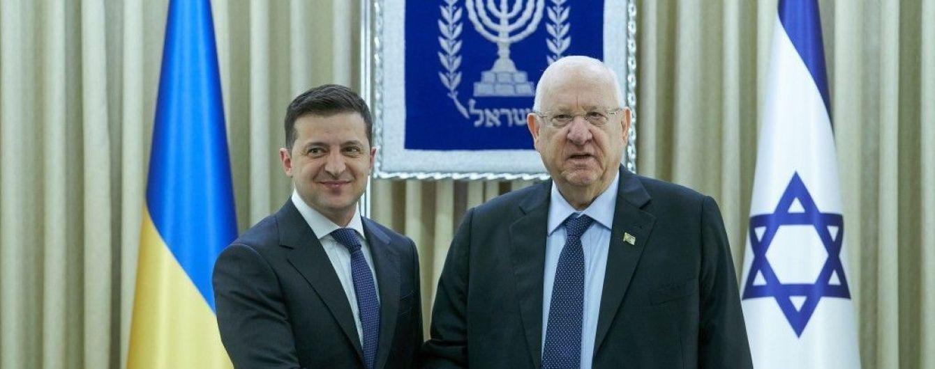 Зеленский провел встречу с президентом Израиля: о чем говорили