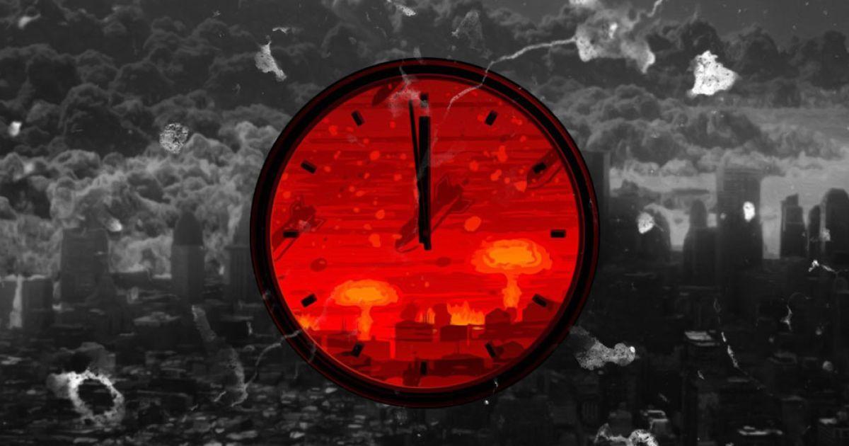 """Картинки по запросу """"100 секунд до конца света ученые перевели стрелки Часов Судного Дня"""""""""""