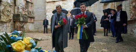 Зеленский с женой посетил мемориал Холокоста в Иерусалиме