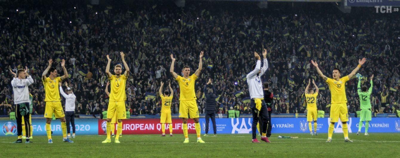 Став відомий розклад матчів збірної України в Лізі націй