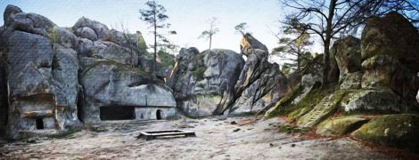 Скалы Довбуша — хорошо раскрученный бренд